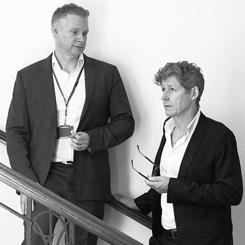 Professor Sebastian Johnston and Dr Michael Edwards
